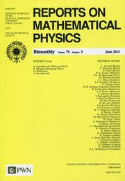 Reports on Mathematical Physics 75/3 2015 Kraj,